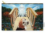 Come Walk With Me Over The Rainbow Bridge Carry-all Pouch