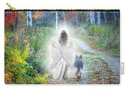 Come Walk With Me Carry-all Pouch by Sue Long