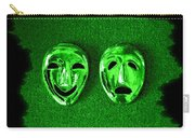 Comedy And Tragedy Masks 3 Carry-all Pouch