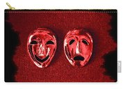 Comedy And Tragedy Masks 4 Carry-all Pouch