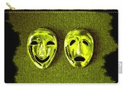 Comedy And Tragedy Masks 6 Carry-all Pouch