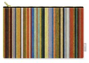 Comfortable Stripes V Carry-all Pouch by Michelle Calkins