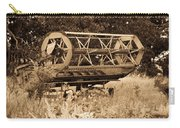 Comgine Wheel In Sepia Carry-all Pouch