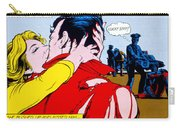 Comic Strip Kiss Carry-all Pouch by MGL Studio