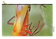 Coming Of Age - Large Milkweed Bug - Oncopeltus Fasciatus Carry-all Pouch