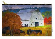 Coming To The Barn Carry-all Pouch