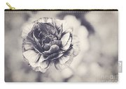 Coming Up In Black And White Carry-all Pouch