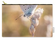 Common Blue Butterfly Carry-all Pouch