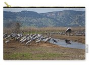 Common Crane Grus Grus Carry-all Pouch