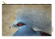 Common Crowned Pigeon Carry-all Pouch
