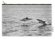 Common Dolphins Leaping. Carry-all Pouch