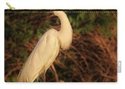 Common Egret Of Palestine Lake Carry-all Pouch
