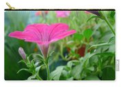 Common Garden Petunia Flower Carry-all Pouch