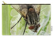 Common House Fly 0.9x Carry-all Pouch
