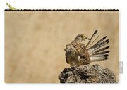 Common Kestrel Falco Tinnunculus Carry-all Pouch