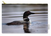 Common Loon 8 Carry-all Pouch