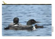 Common Loon Family Carry-all Pouch