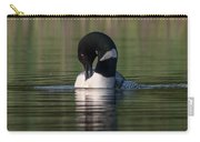 Common Loon Preening Carry-all Pouch