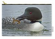 Common Loon With Food Carry-all Pouch