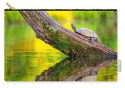 Common Map Turtle Carry-all Pouch