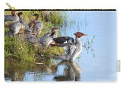 Common Merganser Family 2a Carry-all Pouch