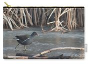 Common Moorhen Iced Lake Carry-all Pouch