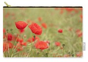 Common Poppies Carry-all Pouch