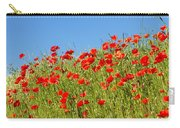 Common Poppy Flowers  Carry-all Pouch