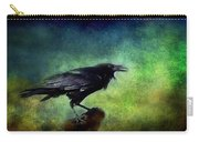 Common Raven Carry-all Pouch