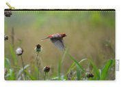 Common Redpoll In Flight Carry-all Pouch