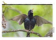 Common Starling Singing Bavaria Carry-all Pouch