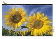 Common Sunflower Field Carry-all Pouch