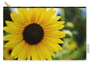 Common Sunflower Carry-all Pouch