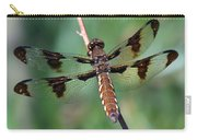 Common White-tail Dragonfly Carry-all Pouch