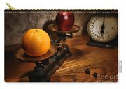 Comparing Apple And Orange Carry-all Pouch