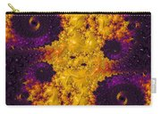 Complimentary - Yellow And Purple Carry-all Pouch