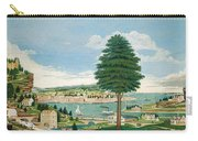 Composite Harbor Scene With Castle Carry-all Pouch