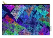 Computer Generated Abstract Julia Fractal Flame Carry-all Pouch