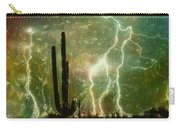 Computer Generated Image Of Lightening Carry-all Pouch