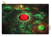 Computer Generated Spheres Abstract Fractal Flame Modern Art Carry-all Pouch