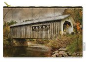 Comstock Bridge 2012 Carry-all Pouch by Deborah Benoit