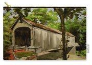 Comstock Covered Bridge East Hamptom Connecticut Carry-all Pouch