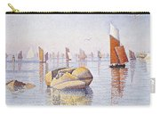 Concarneau   Quiet Morning Carry-all Pouch by Paul Signac