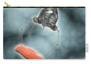 Conceptual Image Of A Nanobot Injecting Carry-all Pouch