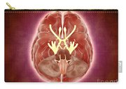 Conceptual Image Of Cranial Nerves Carry-all Pouch