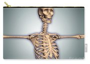 Conceptual Image Of Human Rib Cage Carry-all Pouch