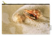 Conchs In Surf 1 Antique Carry-all Pouch
