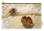 Conchs In Surf 2 Antique Carry-all Pouch