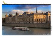 Conciergerie And The Seine River Paris Carry-all Pouch