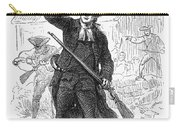 Concord: Minuteman, 1775 Carry-all Pouch by Granger